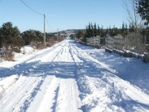 nevada acceso urbanización prado pinilla