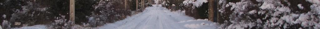 accesos nevado a casas urbanización prado pinilla