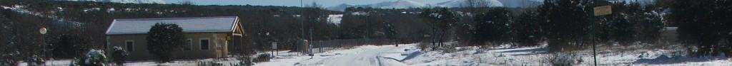 calles nevadas urbanización prado pinilla