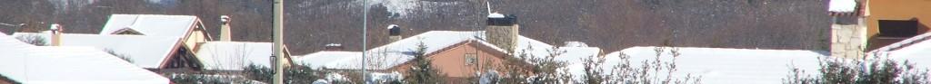 casas nevadas urbanización prado pinilla